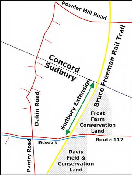Trail Extension to Sudbury