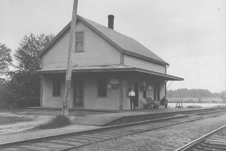 East Acton Train Depot 1909