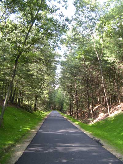 Rail Trail in Westford, MA