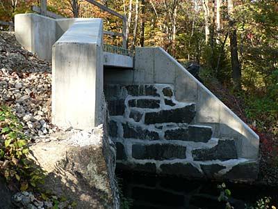 Bridge Work on Bruce Freeman Rail Trail